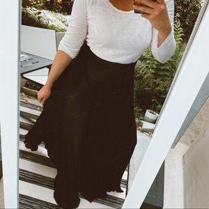 Show Me Your MuMu Pants & Jumpsuits - [Show Me Your Mumu] Black Pleated Dance Pants